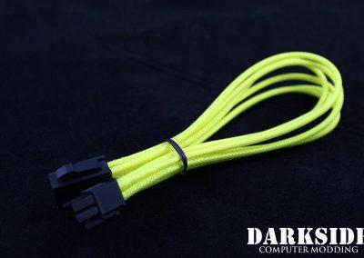 6-pin PCI-E Acid Yellow UV 2